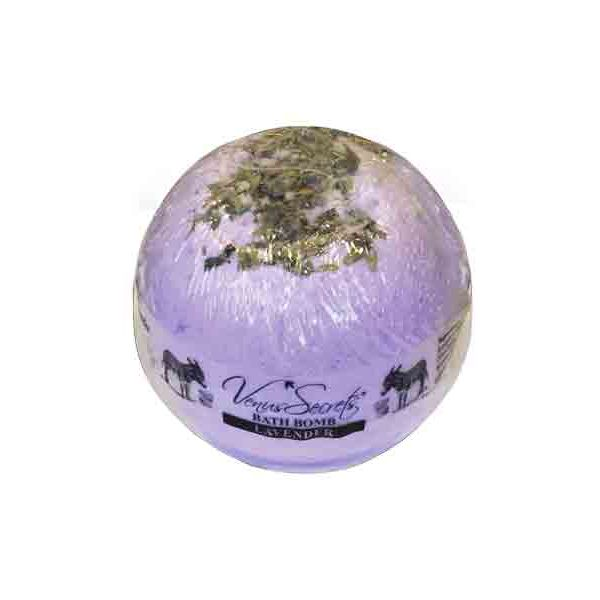 Bath & Spa Care Venus Secrets Donkey Milk Bath Bomb Lavender