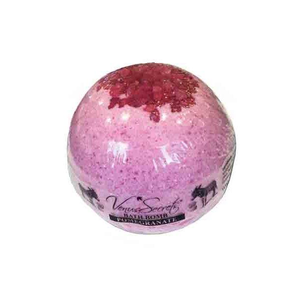 Bath & Spa Care Venus Secrets Donkey Milk Bath Bomb Pomegranate