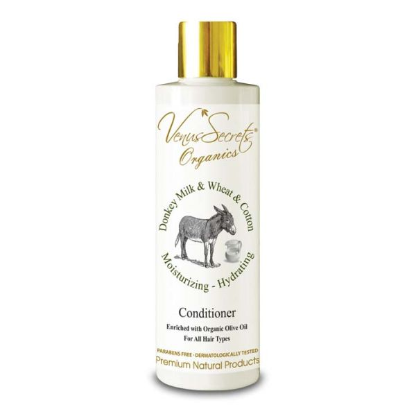Mαλακτική Κρέμα Venus Secrets Γάλα Γαϊδούρας Σιτάρι & Βαμβάκι Μαλακτική Κρέμα Μαλλιών