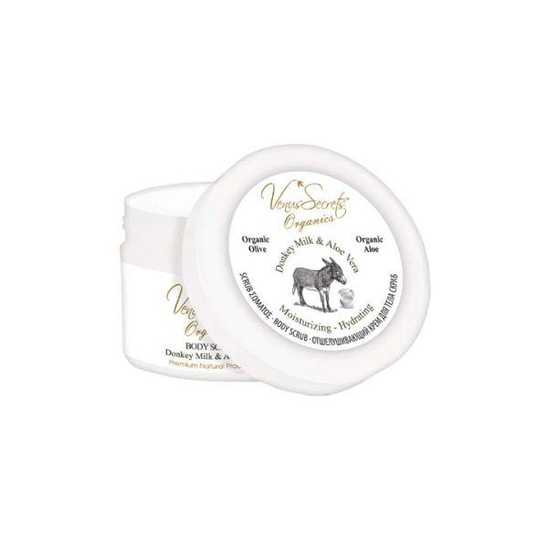 Body Care Venus Secrets Donkey Milk & Aloe Vera Body Scrub