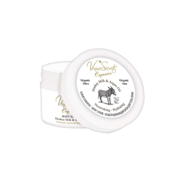 Body Care Venus Secrets Donkey Milk & Argan Body Scrub