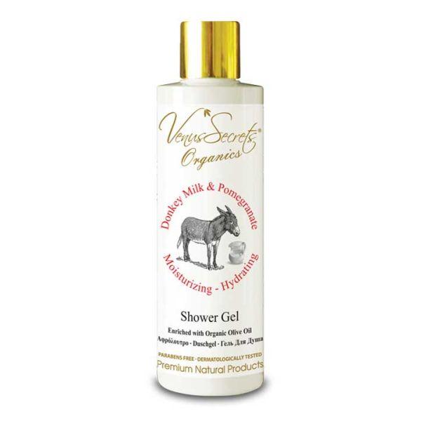 Body Care Venus Secrets Donkey Milk & Pomegranate Shower Gel