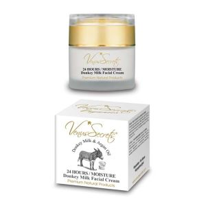Face Care Venus Secrets Donkey Milk 24 Hours Moisture Facial Cream