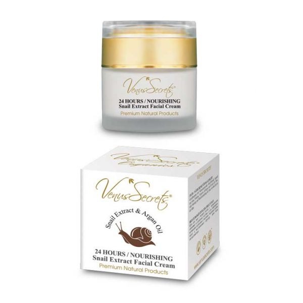 Face Care Venus Secrets Snail Extract 24 Hours Nourishing Face Cream