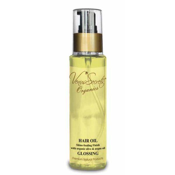 Hair Care Venus Secrets Organics Argan Hair Oil Glossing