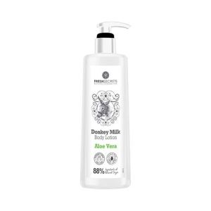 Body Care Fresh Secrets Body Lotion Donkey Milk & Aloe Vera