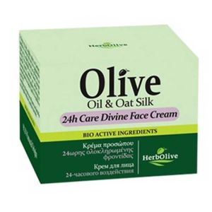 Anti-Wrinkle Cream Herbolive 24h Care Divine Face Cream