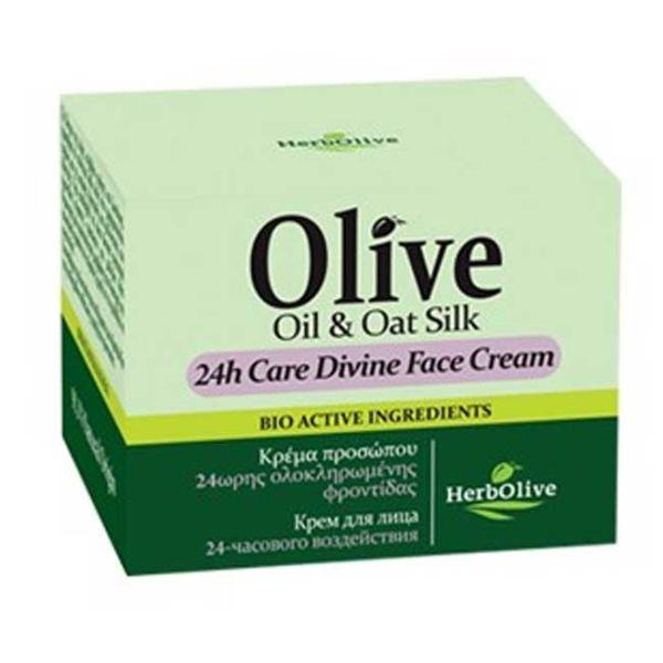 Anti-Wrinkle Cream Herbolive 24h Care Divine Face Cream