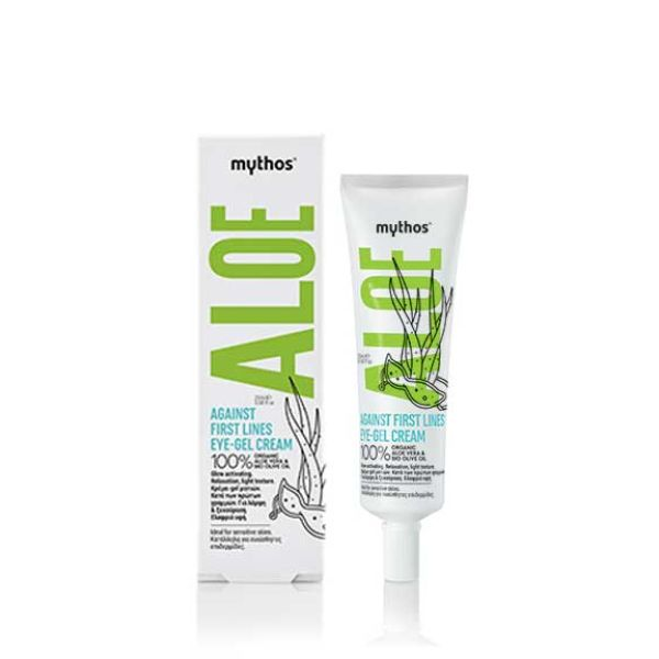Eye Care Mythos Aloe Eye Cream-Gel Against Fine Lines