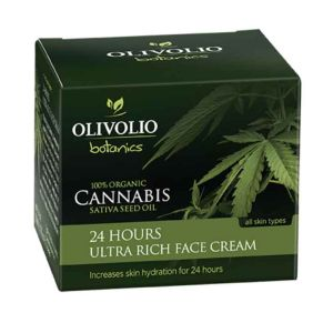 Face Care Olivolio Cannabis Oil – CBD 24 Hours Ultra Rich Face Cream