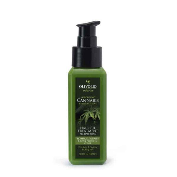 Hair Care Olivolio Cannabis Oil – CBD Hair Oil Treatment All Hair Types