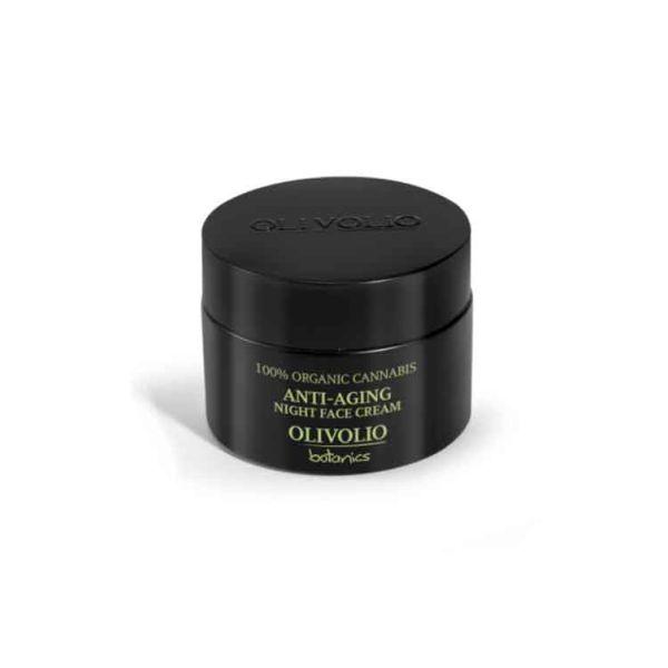 Face Care Olivolio Cannabis Oil – CBD Anti-Aging Night Face Cream