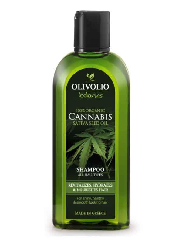 Περιποίηση Μαλλιών Olivolio Λάδι Κάνναβης -CBD Σαμπουάν για Όλους τους Τύπους