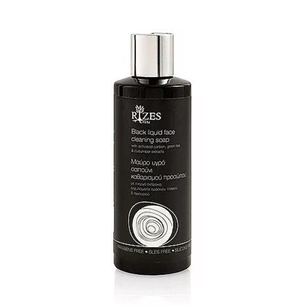 Face Care Rizes Crete Black Liquid Face Cleaning Soap