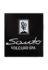 Bath Foam Santo Volcano Spa Avaton Black Detox Soap Face & Body