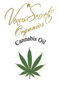 Hand Cream Venus Secrets Organics Cannabis Oil & Argan Hand & Nails Cream