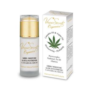 Face Care Venus Secrets Cannabis Oil, Aloe & Panthenol 24 Hrs / Moisture Serum