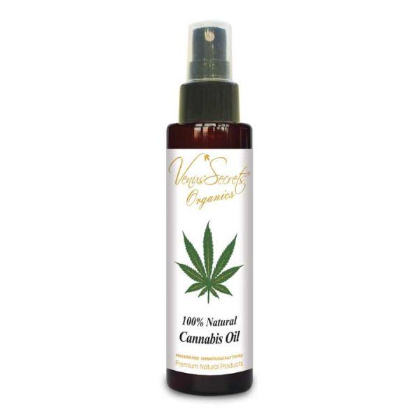 Bath & Spa Care Venus Secrets Cannabis Oil 100% Natural for Face & Body