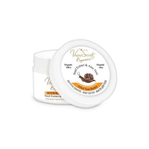 After Sun Care Venus Secrets Snail Extract After Sun Butter for Intense Recovery