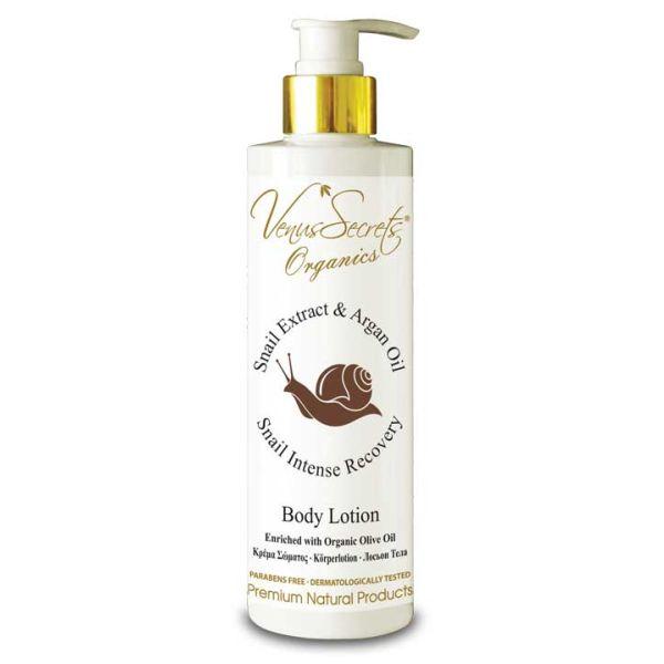 Body Care Venus Secrets Snail Extract & Argan Oil Body Lotion