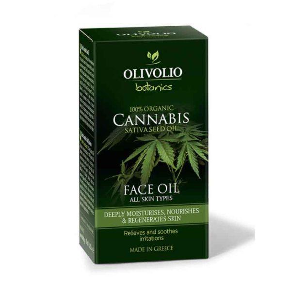 Face Care Olivolio Cannabis Oil – CBD Face Oil