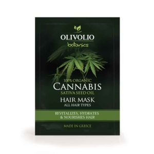 Hair Care Olivolio Cannabis Oil – CBD Hair Mask All Hair Types 12 X 20 ml