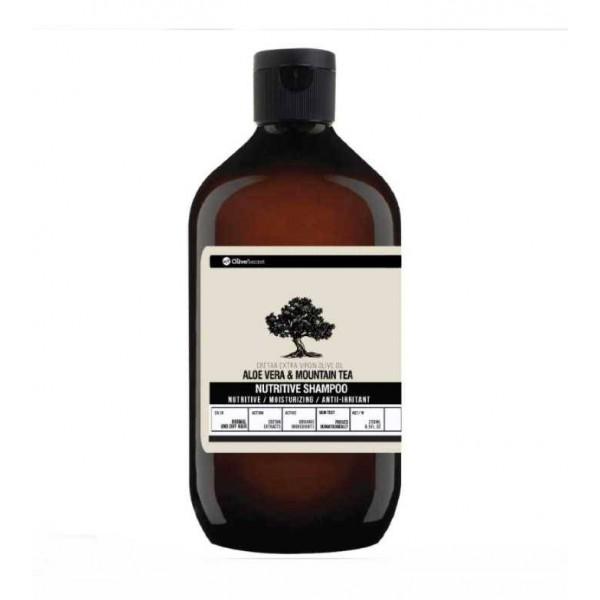 Hair Care Olive's Secret by KretaNet Aloe Vera & Mountain Tea Nutrive Shampoo