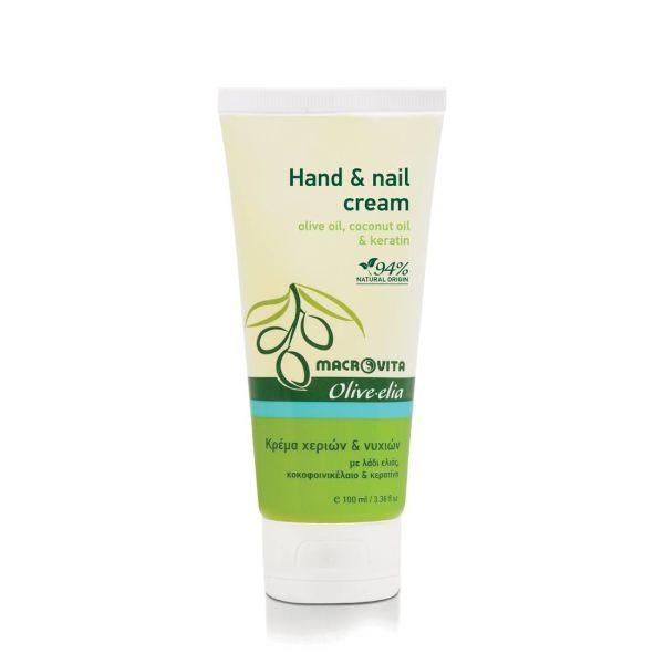 Hand Cream Macrovita Olivelia Hand Cream & Nail Cream