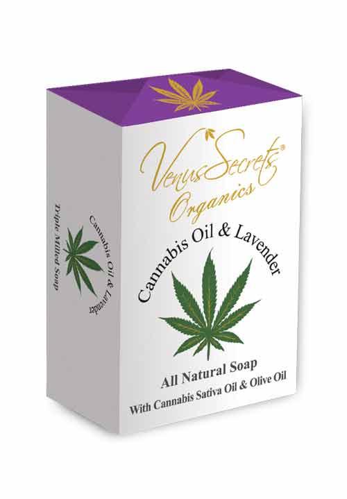 Σαπούνι Venus Secrets Organics Σαπούνι με 'Έλαιο Κάνναβης & Λεβάντα