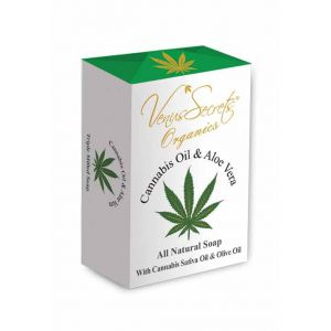 Regular Soap Venus Secrets Organics Cannabis Oil & Aloe Vera Soap