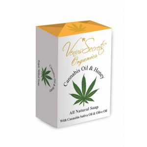 New Arrivals Venus Secrets Organics Cannabis Oil & Honey Soap