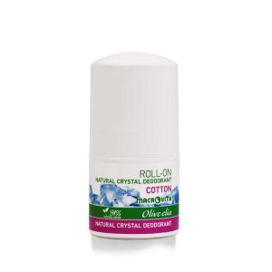 Body Care Macrovita Olivelia Natural Crystal Deodorant Roll-on Cotton
