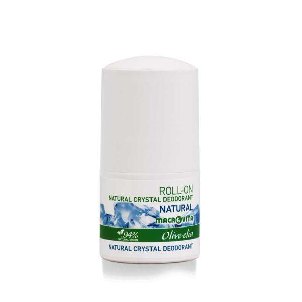 Body Care Macrovita Olivelia Natural Crystal Deodorant Roll-on Natural