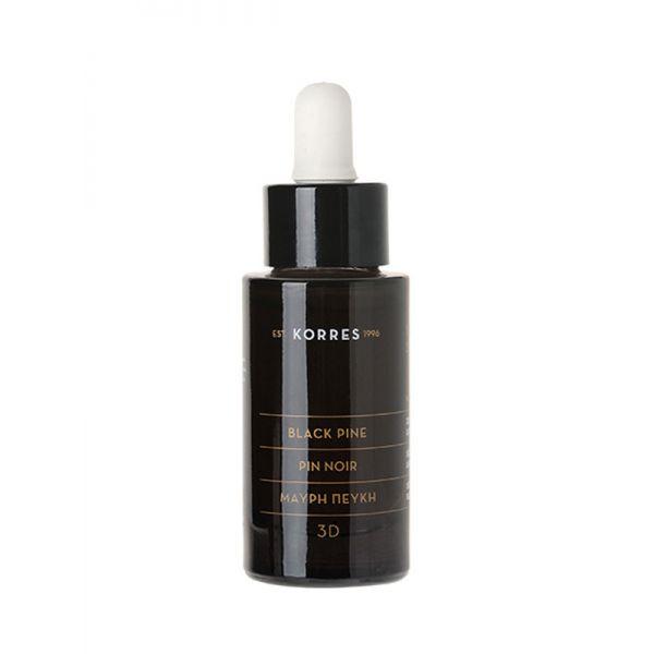 Face Care Korres Black Pine 3D Lifting / Firming Nourishing Face Oil