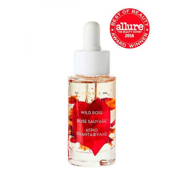 Face Care Korres Wild Rose Vitamin C Brightening Face Oil