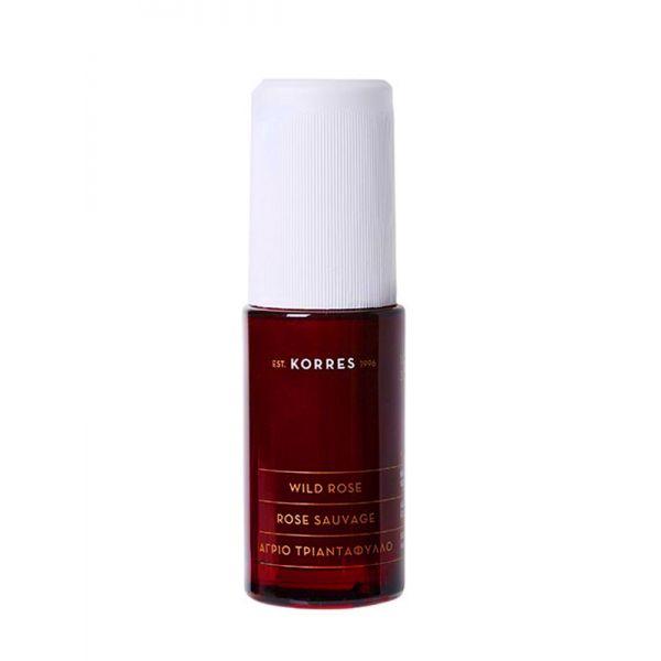 Face Care Korres Wild Rose Vitamin C Serum for Brightening & First Wrinkles