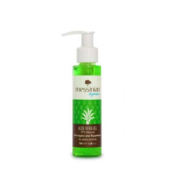 After Sun Care Messinian Spa Aloe Vera Gel Aloe & Panthenol