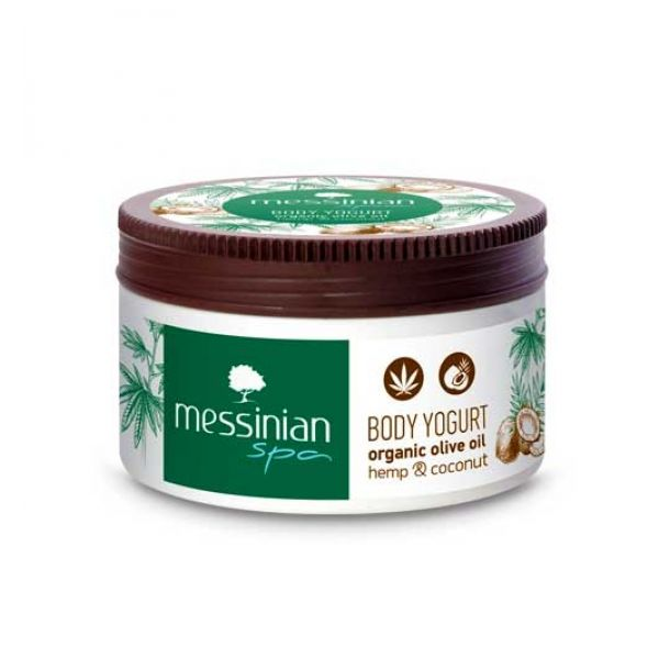 Body Care Messinian Spa Body Yogurt Hemp & Coconut