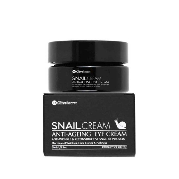 Eye Care Olive's Secrets Snails Eyes Cream Αnti-wrinkle & Nourishing
