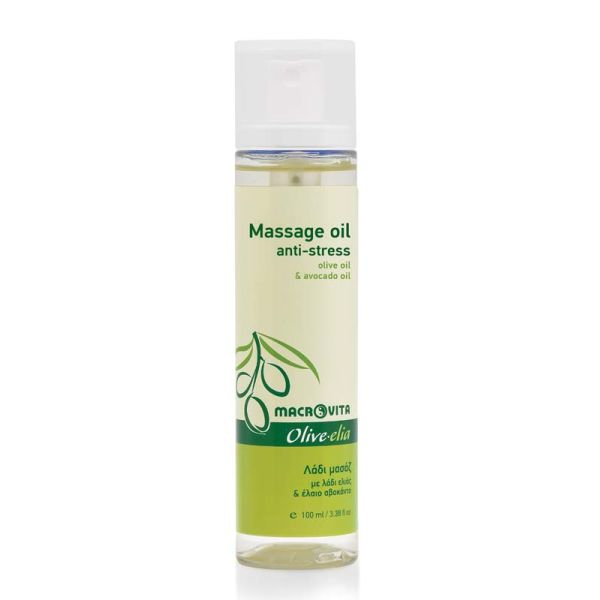 Bath & Spa Care Macrovita Olivelia Massage Οil Αnti-stress