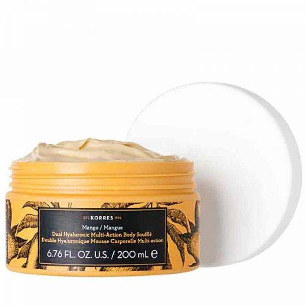 Body Butter Korres Dual Hyaluronic Multi Action Body Souffle Mango