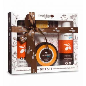 Body Care Messinian Spa Body & Face Care Gift Set Orange & Lavender