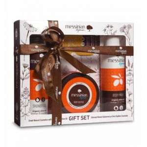 Body Butter Messinian Spa Body Care Gift Set Orange & Lavender