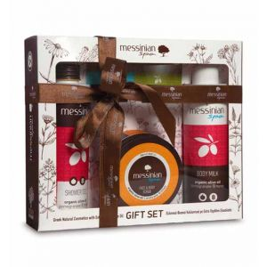 Body Butter Messinian Spa Body & Face Care Gift Set Pomegranate & Honey