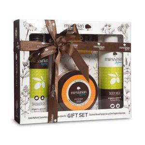 Body Butter Messinian Spa Body & Face Care Gift Set Lemon & Fig