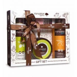 Body Butter Messinian Spa Body & Hair Care Gift Set Lemon & Fig
