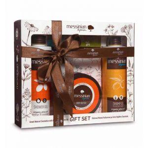 Body Butter Messinian Spa Body & Hair Care Gift Set Orange & Lavender