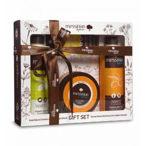 Body Care Messinian Spa Body, Hair & Face Care Gift Set Lemon & Fig