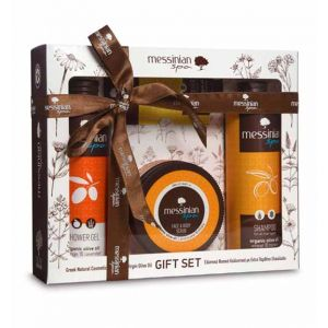 Body Care Messinian Spa Body, Hair & Face Care Gift Set Orange & Lavender