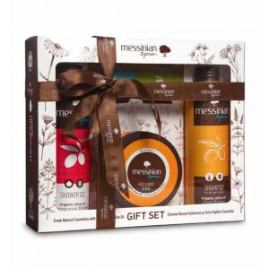Body Care Messinian Spa Body, Hair & Face Care Gift Set Pomegranate & Honey